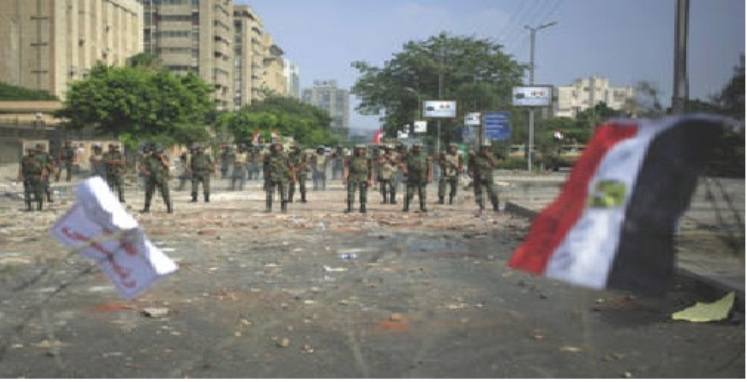Egypt army Coup not See with Westren Lens Nader Hashemi 30