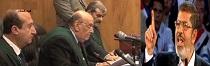 مـن رئیس جـمهور قانونی مـصرهــستم و تو قاضی غیرقـانونی وباطلی هستی !
