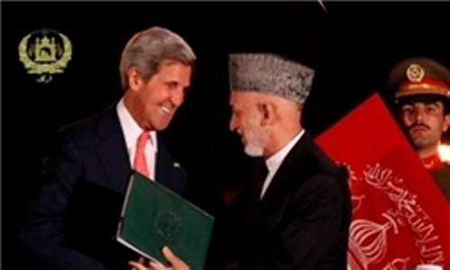 متن کامل موافقت نامه امنیتی میان افغانستان وامریکا