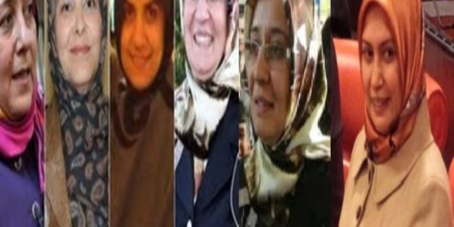 تعداد زنانی که باروسری در مجلس ترکیه حضور یافتند به پنج تن رسید