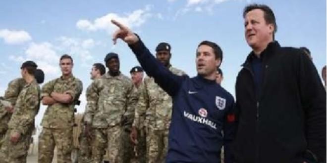 درحاشیه سفرسیاسی- ورزشی کامِرون صدراعظم بریتانیابه افغانستان !