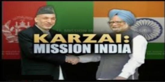 هند از پذیرش درخواست فراهم ساختن تجهیزات نظامی حامد کرزی معذرت خواست