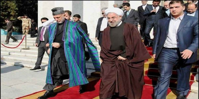 آقای روحانی ! خیریت است انشأ الله ؟ اینجا افغانستان است .
