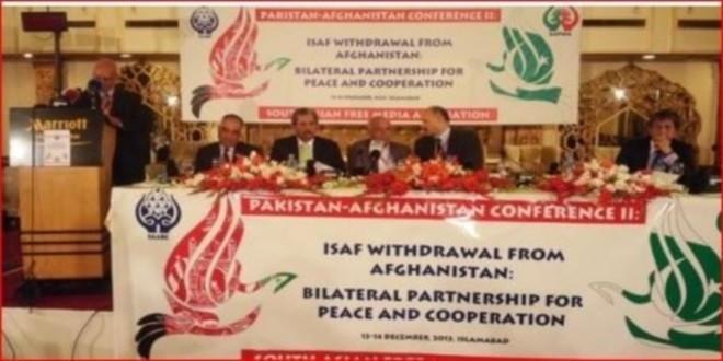 کنفرانس رسانه های آزاد جنوب آسیا به اشتراک فرهنگیان افغانستان و پاکستان آغاز به کارکرد.