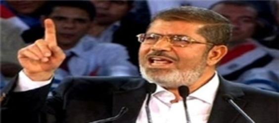"""مرسی خطاب به رئیس """"محکمه """"  دادگــاه: من رئیسجمهور قانونی مصر هــستم"""