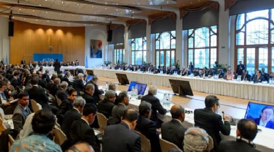 کنفرانس برای حل بحران سوریــه بدون حـــضورایران درژنــیوآغـــازشـــد