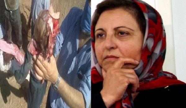 شیرین عبادی: به عنوان یک ایرانی ازمردم سوریه معذرت می خواهم!