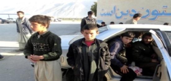 بازداشت ۴۸تن ازمهاجران و آواره گان نوجوان و بینوای افغان درایران اسلامی !