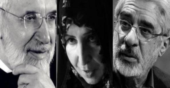امریکا بازداشت خانگی میرحسین موسوی،مهدی کروبی وخانم رهنــورد رامحکوم کرد