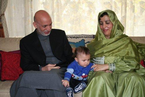 سومین فرزند حامد کرزی به دنیا آمد