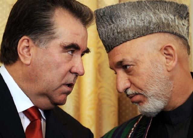 امام علی رحمانوف رئیس جمهور تاجکستان غرض اشتراک درمراسم  جشن نوروز وارد کابل شد .