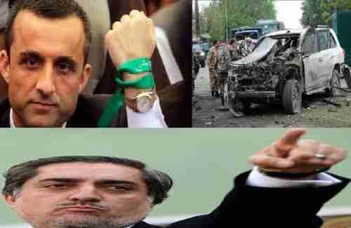 شهادت ارگان حزب اسلامی حکمتیار : حمله بر کاروان عبدالله ناشی از اختلاف درونی تیم های رژیم کابل است و امرالله صالح رئیس پیشین امنیت درآن دست داشت .