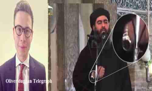 ساعت دستی ی ابوبکر بغدادی امیرالمؤمنین تازه منصوب شده داعش به مسخره گرفته شد .
