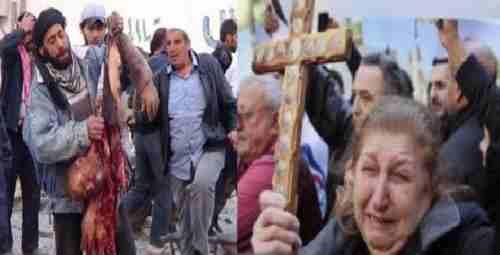 داعش با افتخار اعلام کرد:دهها نفر از مسیحیان موصل باتهدید شمشیرمسلمان شدند!