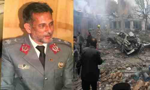 جنرال ظاهرقوماندان امنیه کابل قربانی صداقت در وظیفه اش شد !!