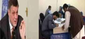 با عدم حضور ناظران عبدالله درکمیسیون انتخابات بازشماری آرای انتخابات باز هم متوقف شد