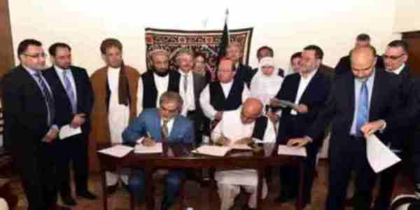 Ashraf Ghani and Abdullah Agriment 08