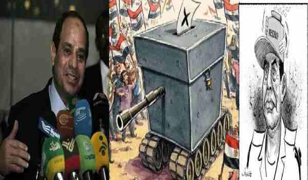 جنرال السیسی:قطر،ترکیه واخوان المسلمین علیه مصرتوطئه میکنند!