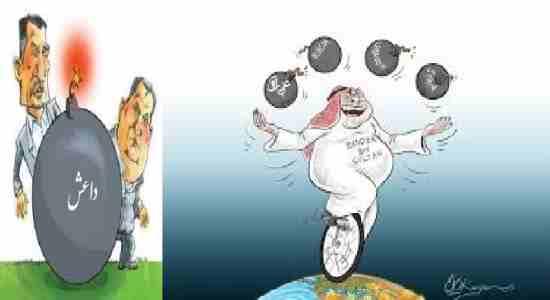 تروریسم تکفیری ها چون بمب ساعتی!