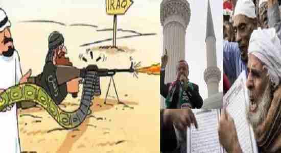 بغدادی : اردُغان مانند ما فکر نه میکند جهاد دربرابر وی بر ما فرض است !!