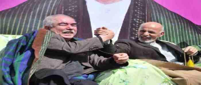 ashraf ghani ahmad zay and Dostaum 17