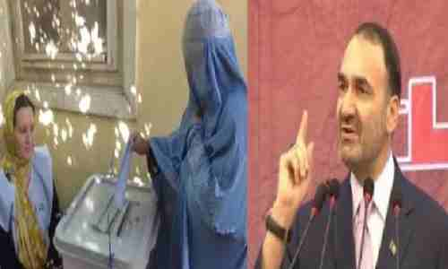 عطامحمد نور متولی روضه شریف : اشرف غنی رئیس جمهور منتخب نیست !