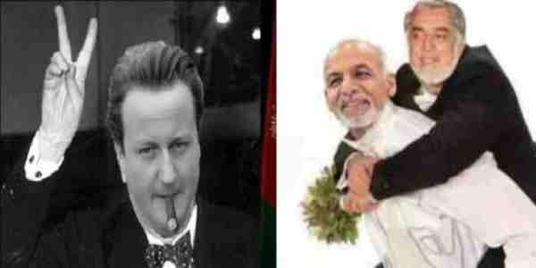 کامیرون نخست وزیر انگلیس در کابل ؟