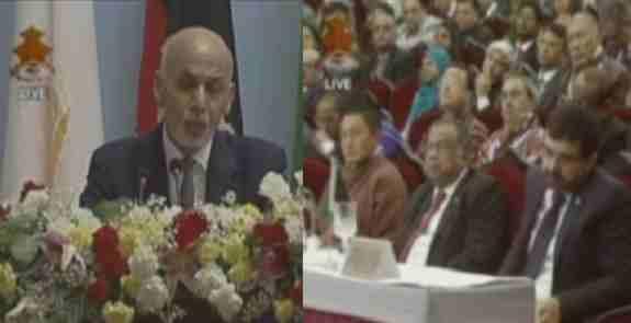 اشرف غنی :به هیچ کشور و هیچ کسی اجازه نمیدهیم درافغانستان جنگ نیابتی راه اندازد .