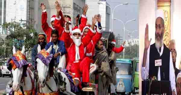 جماعت اسلامی پاکستان، بر نصاب تعلیمی خیبر پشتونخوا به دلیل داشتن تصاویری برکتب نصاب تعلیمی که گویا سمبول های مسیحیت اند اعتراض کرد .