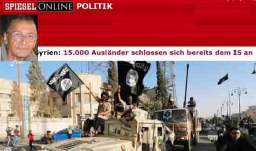 پیوستن ۱۵۰۰۰خارجی با داعش !
