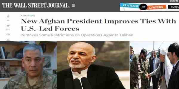 دافغانستان نوې جمهور رئیس اشرف غنی له امریکا سره د ښو اړیکو د جوړولو په لټه کی دی .