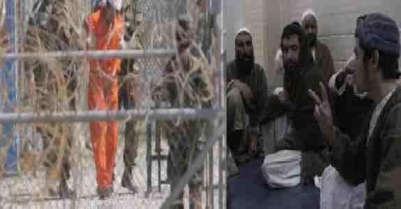 آزادی ۴ زندانی افغان از گوانتانامو !