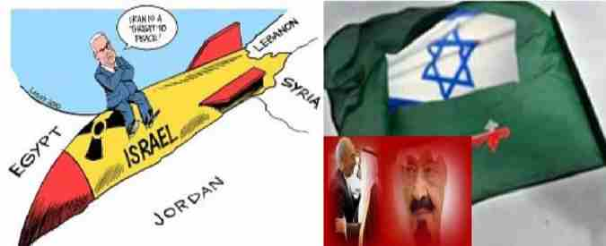 Israil iran Cartoons 08