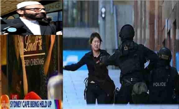 گــروگـان گـیریــی یک داعشی ایرانی تبار    دررسـتورانت مارتین  سیـدنی استـرالـیا !
