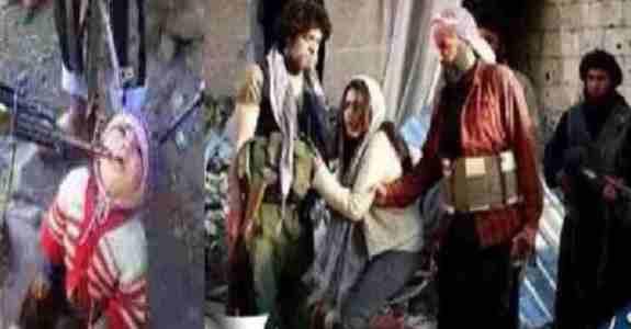 تیرباران زنان اسیر توسط داعش !