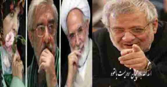 اسدالله بادامچیان قائیم مقام حزب مؤتلفه :موسوی و کروبی باید اعدام شوند !!