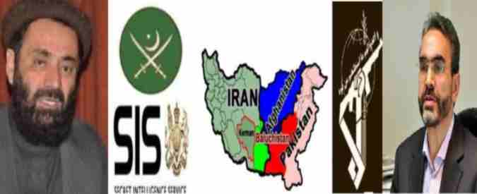 iran sepah and Pakistan ISI Flags and Maps 16