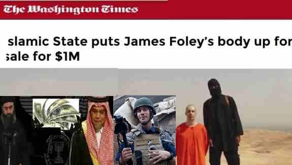 """فروش جنازه """"جیمز فولی""""به امریکا!"""
