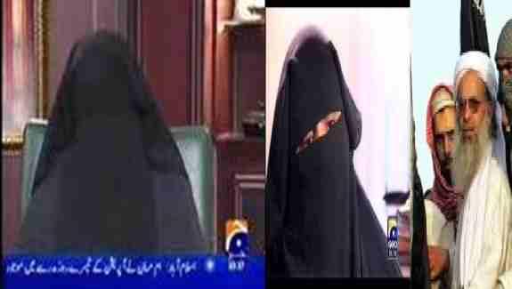 همسرمولانا عبدالعزیزخطیب لال مسجد اسلام آبادبه اتهام زندانی ساختن یک شاگرد مدرسه متهم شد