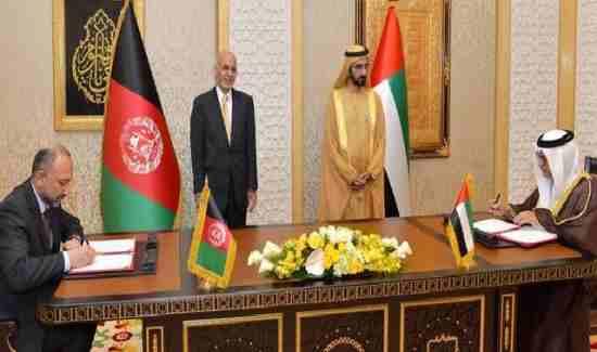 با امضای قرارداد استرتیژیک میان افغانستان و امارات متحده عربی راه برای تحقق اهداف عربستان و پاکستان هموارگردید .