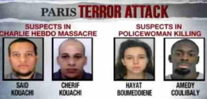paris Teroor atack Trorists 12