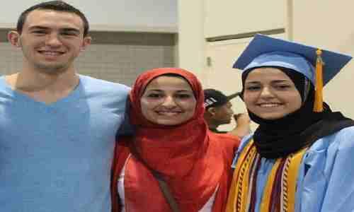 سه محصل ممتاز مسلمان در پوهنتون کارولینای شمالی امریکا به جرم مسلمان بودن به قتل رسیدند