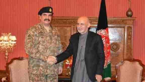 حضور آرتش پاکستان به بهانه دستگیریی مـلا فضل الله در افغانستان ؟
