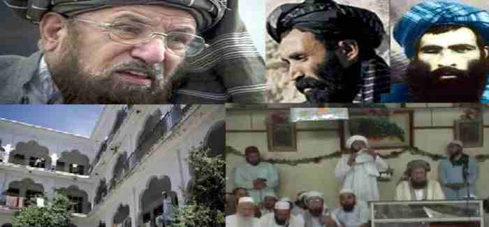 Mullah Omar and samiulhaq Madrasah 16