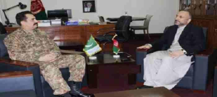 Hanif Atmar with Genral Sharif Pakistan 25