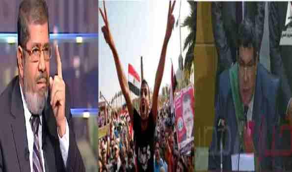 محمد مرسی رهبر حزب آزادی و عدالت و نخستین رئیس جمهور منتخب مصر به جرم مبارزه علیه رژیم دیکتاتوری حسنی مبارک محکوم به اعدام شد