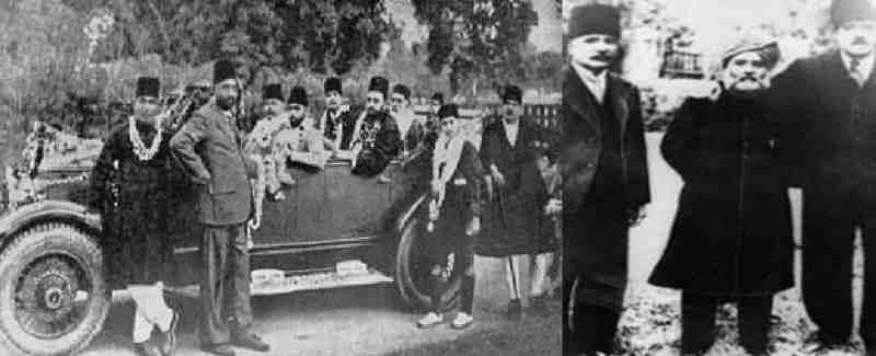king Nadershah and Alama Eqbal in Kabul 16