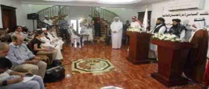taliban in Doha Qatar Office 06