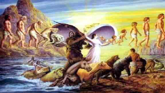 در مبحث هدایت و راهنمایی انسان  ، نگاه دینی به تاریخ  بشر چگونه نگاهی است ؟