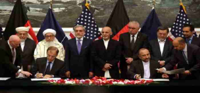 USA AFGHANISTAN AGRIMENT 24